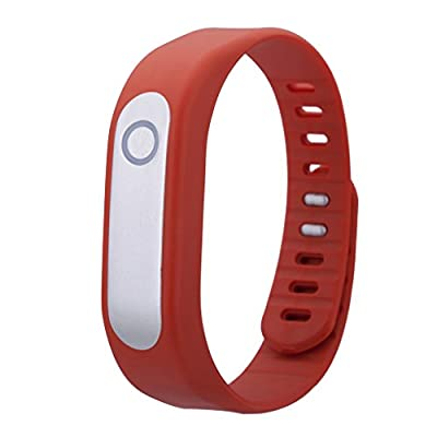 HAMSWAN DIGICARE Mario Smart Band Wearable Fitness Activity Tracker Wrist Bracelet Sleep Heart Rate Monitoring Compatible with Android and iOS