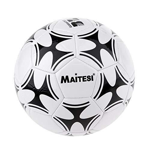 aolongwl Balón de fútbol Balón De Fútbol De Fútbol 3 Entrenamiento Estándar con Aguja De Red para Interior Y Exterior