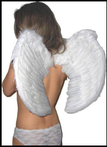 Engelsflügel WEIß Engel Flügel 60 x 50 Dessous Fasching WEISS Katjas Dreamland kostenloser VErsand 2700338