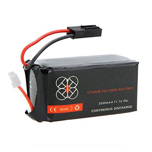 GoolRC High Quality Upgrade Lipo Battery 11.1V 2500mah 20C for Parrot AR.Drone 2.0 Quadcopter
