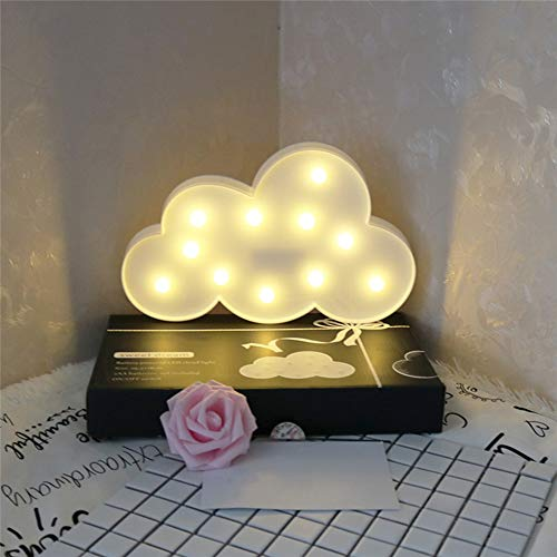 - BELUPAID Night Light LED Sculpture Light Festival Lights Home Decoration for Christmas Birthday Party Bedroom Hallway Stairs (Moon Cloud and Star)