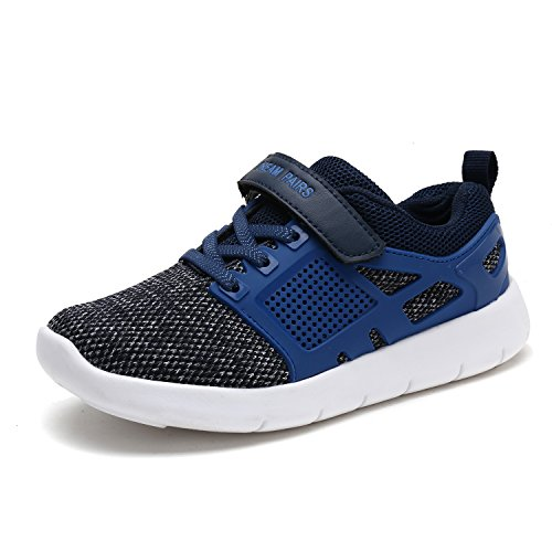 DREAM PAIRS Toddler 170946_K Navy Royal Fashion Running Shoes Sneakers Size 7 M US (Toddler Sneakers Shoes)