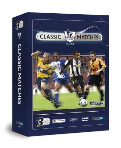 Premier League Classic Matches Triple Pack [DVD]