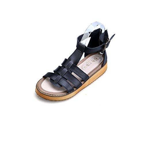 Mujeres Plataforma Gracosy Tangas Planos Zapatos Negro T Verano Playa De Para Slingback Cuña Sandalia Goma Suela Chanclas Sandalias Tobillo Correa BEqxpFqwI