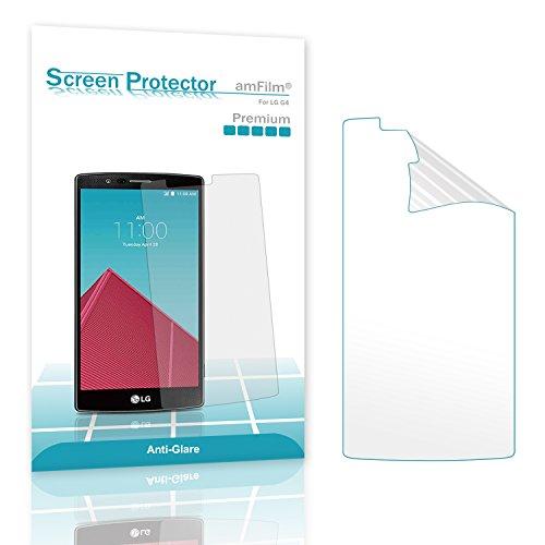 LG G4 Screen Protector, amFilm® Anti-Glare/Fingerprint  Scr