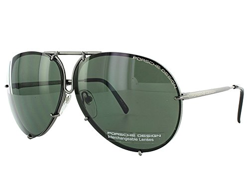 Porsche Design Sunglasses, Gunmetal, - Porsche Aviators Design