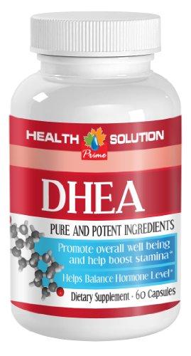 DHEA 50mg aide Building Up système immunitaire et la force musculaire (1 bouteille de 60 gélules).