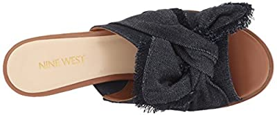 Nine West Women's Byron Denim Mule