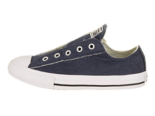 Converse Kids Chuck Taylor All Star Slip Ox Navy Basketball Shoe 12.5 Kids US by Converse (Image #2)
