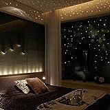 ملصقات جدارية مضيئة في الظلام مكونة من400 قطعة بتصميم نقاط مضيئة لغرف الأطفال وتزيين غرف النوم