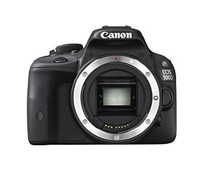 Canon EOS 100D - Cámara réflex digital de 18 Mp (pantalla 3 ...