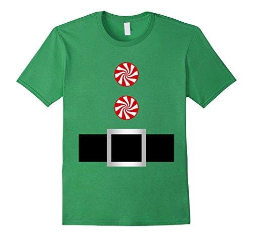 Cute Teenage Halloween Costumes Ideas (Mens Candy Cane Santa Elf Belt Costume Outfit Jacket Shirt Small Grass)