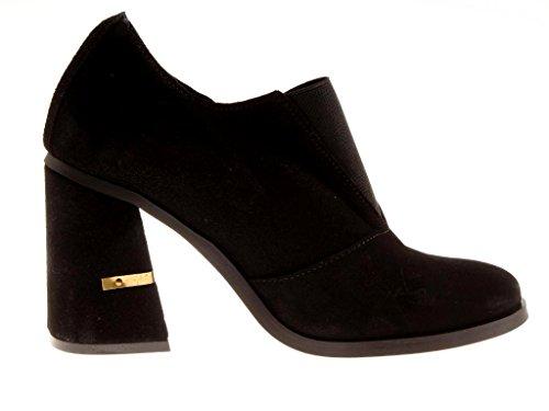 compensées à chaussures PORTUGAL 1460 cuir escarpins sauvage en semelles 7 cuir shoes Preto Nata Escarpins wSBaxtXwq