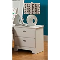 Sandberg Furniture Hailey 2-Drawer Night Stand