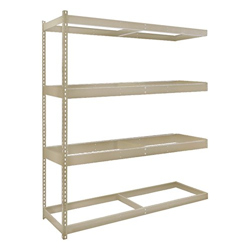 Double Rivet Channel Beams - Hallowell DRCC962484-4A Rivetwell Double Rivet Boltless Shelving, 96