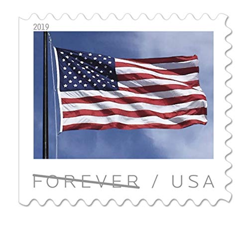 (USPS US Flag 2017 Forever Stamps - Book of 20)