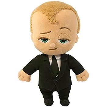 Amazon Com Commonwealth Toy The Boss Baby 8 Quot Beanie Suit