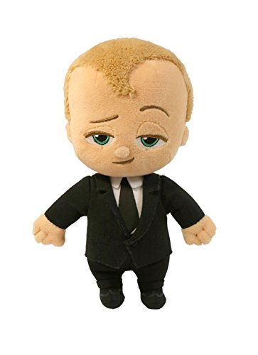Commonwealth Toy The Boss Baby 8  Beanie Suit Plush