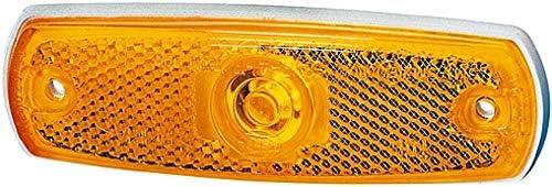 Hella 2ps 962 964 031 Seitenmarkierungsleuchte W3w 12v Lichtscheibenfarbe Gelb Einbau Einbauort Links Rechts Auto