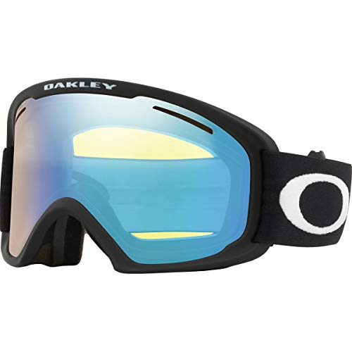 Oakley O-Frame 2.0 PRO XL Adult Snowmobile Goggles - Matte Black/Hi Yellow Iridium/Dark Grey/One Size (Goggles Frame Oakley O Ski)