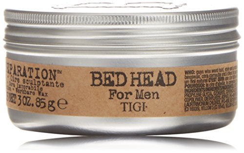 TIGI Bed Head For Men: Matte Separation Workable Wax, 3oz (Head Wax Styling)