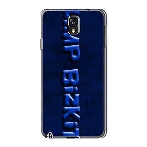 AlainTanielian Samsung Galaxy Note3 Shock Absorbent Hard Phone Cover Allow Personal Design Lifelike Limp Bizkit Band Skin [tzy8575JpDx]
