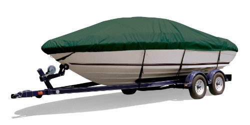 Survivor Marine Products Boat Cover for Daycruiser, Inboard / Outboard Engine, Hunter Green, 22-Feet 5-Inch - 23-Feet 4-Inch Length Overall x 102-Inch Beam Width ()