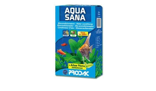 Prodac Aquasana con aloevera- acondicionador de agua para acuarios 500ml: Amazon.es: Jardín