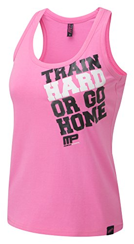 Muscle PHARM Mujer textilbek leidung Back Vest rosa