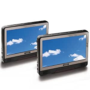 "Wolder 4460091 - Reproductor de DVD portátil con pantalla de 9"""