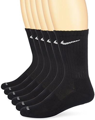 Nike Dri-FIT Crew Training Socks (Large/6 Pair)