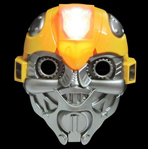 HOLLUK Led Glowing Super Hero Mask The Man Man Party Cosplay Halloween Mask Toy -Multicolor Complete Series Merchandise]()