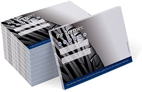 Terminblock Trend (10 Blöcke) je 50 Terminzettel für KfZ Werkstatt