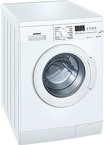Siemens WM14E465EP Independiente Carga frontal 7kg 1400RPM A Color blanco - Lavadora (Independiente, Carga frontal, Color blanco, Izquierda, LED, 180°)
