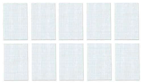 Ampad Quadrille Double Sided Pad, 11 x 17, White, 4x4 Quad Rule, 50 Sheets, 10 Pads, 500 Sheets Total (22-037) by Ampad (Image #6)