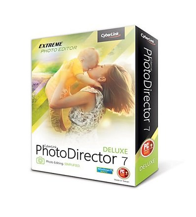 CyberLink PhotoDirector 7 Deluxe for PC (download link and license key will be sent by Amazon message)