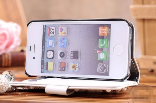Generic Carrying Case for iPhone5 - Non-Retail Packaging - White