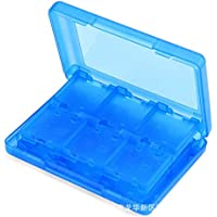 28 in 1 Protective Game card Cartridge Holder Case Box For Nintend 3DS LL/3DS XL/3DS -Blue