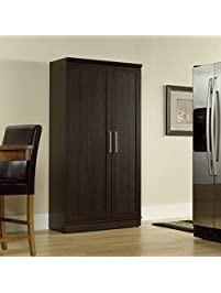 sauder double door storage cabinet