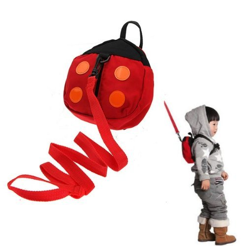 Baby Kid Safety Harness Strap Ladybug Bag - Plaza Eyewear