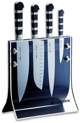 Amazon.com: Friedr. Dick 4-Piece 1905 Knife Block Includes 8 ...