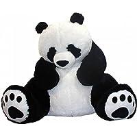 HUG 'n' FEEL SOFT TOYS 4 feet Long Soft Lovable hugable Cute Xtra Large Teddy Bear Panda (Best for Someone Really Special) 121 cm