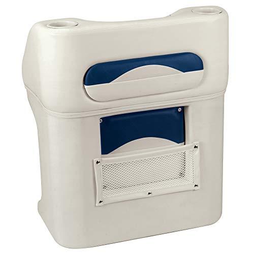 Toonmate Premium Pontoon Steering Console Platinum/Midnight Blue ()