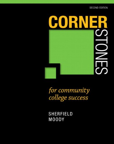 Cornerstones F/Community Coll... Text