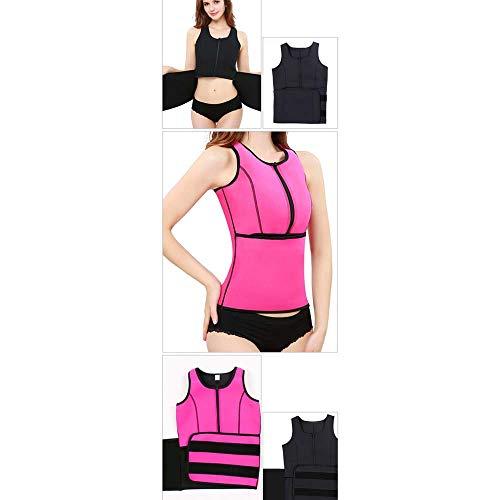 Huifa 3d Yoga Pink Femminile Corsetto Nero Dimensioni Addome 。 Post partum L Allenamento colore Sportivo Traspirante Intimo Vita In Neoprene WrfPaFtr
