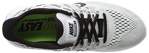 Black Multicolore Corsa Uomo 8 Scarpe White Nike da Lunarglide P6awq8