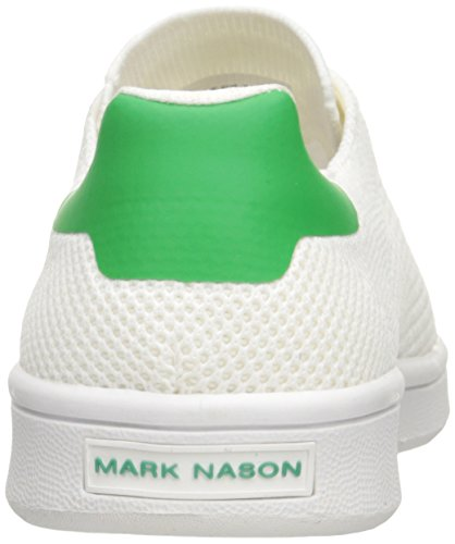 Mark Nason Angeles Kvinna Bradbury Mode Sneaker Vit / Grön