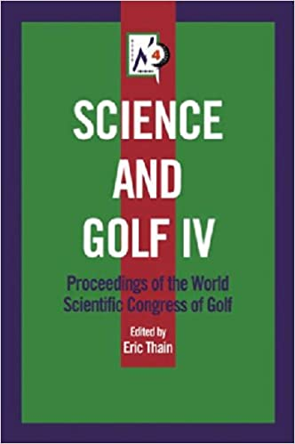 Book Science and Golf IV: 4