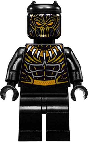 LEGO Marvel Super Heroes Black Panther Minifigure - Killmonger Golden Jaguar Suit (76099)