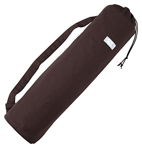Blue Dove Yoga Cotton Yoga Bag (Chocolate)